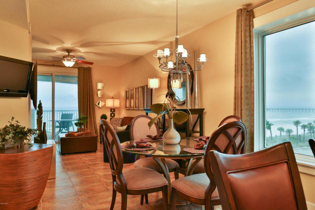 Beachfront Corner Unit Panama City Beach Homes For Sale