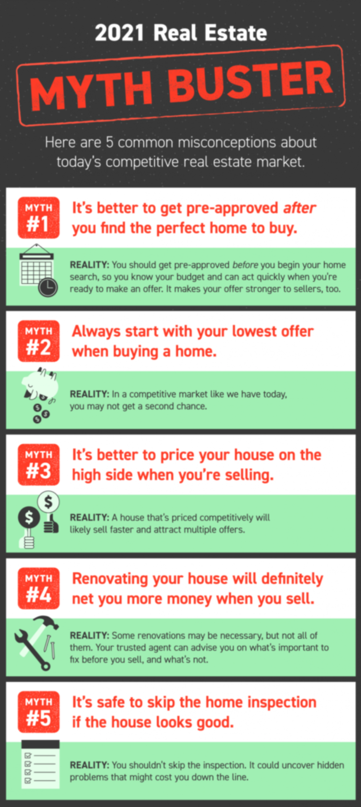 real estate myth buster
